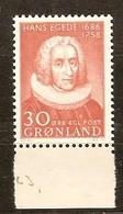 Groenland Greenland  1958 Yvertnr 32 *** MNH Cote  15,00 Euro Hans Egede - Groenland