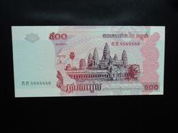 CAMBODGE : 500 RIELS   2002    P 54a      NEUF - Cambodge