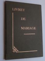 Livret De MARIAGE Province De Limbourg BASSENGE ( STEVENS > LENARS ) 12 Dec 1942 ( Details Zie Foto ) ! - Vieux Papiers