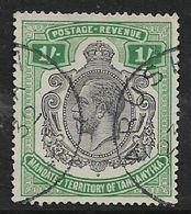 Tanganyika, GVR, 1927, 1/=, Used - Kenya, Uganda & Tanganyika