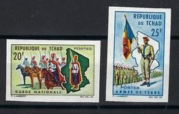 République Du Tchad, Non Dentelé, N° 102 Et 103 ** TB - Tschad (1960-...)