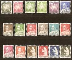 Groenlande Greenland 1963 1968 Yvertn° 36-52 *** MNH Cote 40 Euro - Groenland