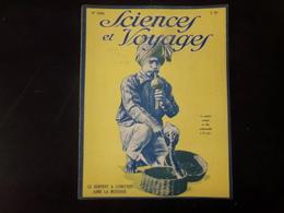 """Revue """" Sciences Et Voyages """" N° 358, 1926, """" Le Serpent à Lunettes Aime La Musique """" - 1900 - 1949"""