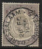 Tanganyika, GVR, 1927, 2/=, Used, DAR ES SALAAM - PARCELS - 28 FE 1935 - Kenya, Uganda & Tanganyika
