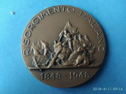 Risorgimento Italiano 1848-1948 Centenario 5 Giornate Di Milano - Italia