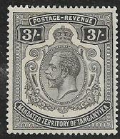 Tanganyika, GVR, 1927, 3/=MH * - Kenya, Uganda & Tanganyika