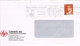 30450. Carta BARCELONA 1983. Rodillo STA. JOAQUIMA VEDRUNA. Hermanas Carmelitas - 1931-Hoy: 2ª República - ... Juan Carlos I