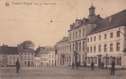 Fontaine L Eveque Place De L Hotel De Ville - Fontaine-l'Evêque