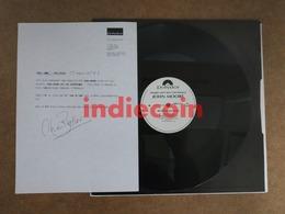 """12 JOHN MOORE Meltdown 1990 UK 12"""" Promo DJ + Label Info Sheet - 45 T - Maxi-Single"""