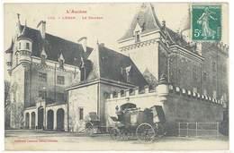 Cpa Leran - Le Château ( Diligence )   ( S. 3283 ) - France