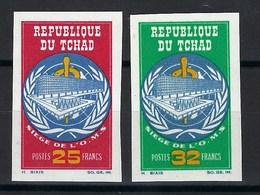 République Du Tchad, Non Dentelé, N° 123 à 124 ** TB - Tsjaad (1960-...)