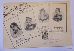 La Famille Royale De Serbie - Serbien