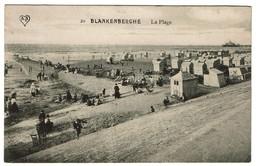 Blankenberghe - La Plage - 1911 - Edit. A.S. - 2 Scans - Blankenberge
