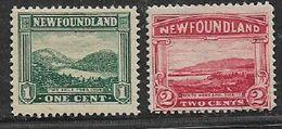 Canada, Newfoundland, 1923 1c, 2c, MH * - Newfoundland