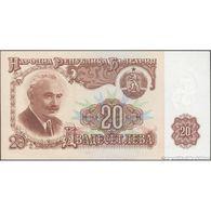 TWN - BULGARIA 97a - 20 Leva 1974 6-digits Serial Numbers - Prefix ДЦ UNC - Bulgaria