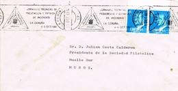 30455. Frontal LA CORUÑA 1983. Rodillo Prevencion Extincion Incensios - 1931-Hoy: 2ª República - ... Juan Carlos I
