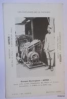 """Les Coulisses De La Victoire-Groupe électrogène """"Aster"""" - Guerra 1914-18"""