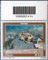 2011 Francobollo Turismo Tarvisio  CODICE A BARRE 1414 - 6. 1946-.. Repubblica