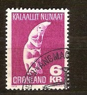 Groenland Greenland 1978 Yvertn° 99 (o) Oblitéré Used Cote 3,00 Euro - Groenland
