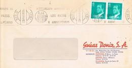 30456. Carta VIGO (Pontevedra) 1982. Rodillo Amigos De Los PAZOS - 1981-90 Cartas