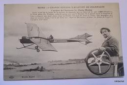 REIMS-Grande Semaine D'aviation De Champagne-L'accident De L'Antoinette 3,Charles Wachter - Meetings