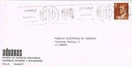 30457. Carta MADRID 1981. Rodillo JUVENALIA, Festival Infancia Y Juventud - 1981-90 Cartas