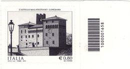 2015 REPUBBICA ITALIANA CASTELLO MALATESIANO LONGIANO CODICE A BARRE 1658 - Code-barres