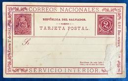 Carte Postale Salvador 1883 - Salvador