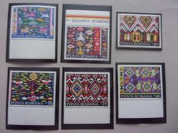 Romana Tapis Roumain Muntenie Banat Oltenie Moldavie Maramures - Textile