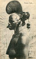 L'AFRIQUE NOIRE N°  - ETHNIQUE - FEMME FOULA - COIFFURE BIJOUX SEINS NUS - Postcards