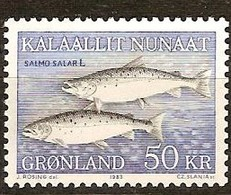 Groenland Greenland 1983 Yvertn° 128 *** MNH Cote 22,50 Euro Faune Poissons Vissen Fish - Groenland