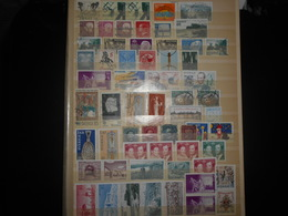 Collection , Suede 60 Timbres Obliteres En Neufs - Collections (without Album)