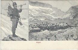 ALPINI - Truppe Da Montagna - Prima Guerra Mondiale - Italie