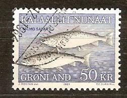 Groenlande Greenland 1983 Yvertn° 128 (°) Used Cote 10 Euro Faune - Groenland