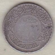 ETAT DE SYRIE . 10 PIASTRES 1929 . ARGENT - Syrië