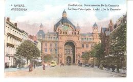 ANVERS-ANTWERPEN-Hoofstatie-Gare Principale-Bouwmeester: De La Censerie-Tram-Tramway-Strassenbahn-Uitg.FV - Antwerpen