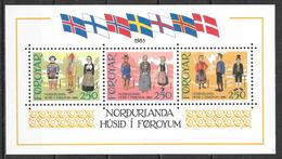 Féroé N° Bloc 1 YVERT NEUF ** - Faroe Islands