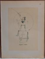 """Mons. Superbe Caricature De """"Maurice Jottrand"""" Par René D'Inn. Publiée En 1909 - Culture"""