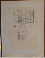 """Mons. Superbe Caricature De """"Adolphe Overtus"""" Par René D'Inn. Publiée En 1909 - Culture"""