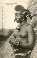 L'AFRIQUE OCCIDENTALE N° 1310  - ETHNIQUE - FEMME FOULAH - COIFFURE BIJOUX SEINS NUS - Postcards