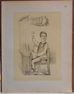 """Mons. Superbe Caricature De """"Fernand Redouté"""" Par René D'Inn. Publiée En 1909 - Culture"""