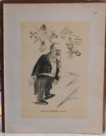 """Mons. Superbe Caricature De """"Edouard Loiseau"""" Par René D'Inn. Publiée En 1909 - Culture"""