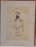 """Mons. Superbe Caricature De """"César Plumat"""" Par René D'Inn. Publiée En 1909 - Culture"""