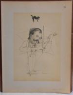 """Mons. Superbe Caricature De """"Edmond Willame"""" Par René D'Inn. Publiée En 1909 - Culture"""