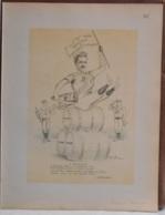 """Mons. Superbe Caricature De """"Rodolphe Paternotte"""" Par René D'Inn. Publiée En 1909 - Culture"""