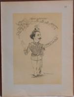 """Mons. Superbe Caricature De """"Arthur Norel"""" Par René D'Inn. Publiée En 1909 - Culture"""