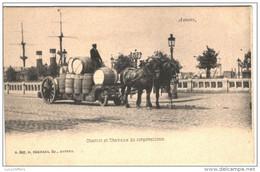 Anvers - Chariot Et Chevaux De Corporations - Bel Attelage - G.Hermans N° 607 - 2 Scans - Antwerpen