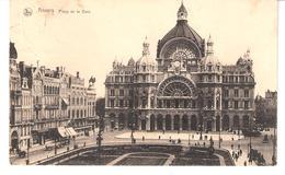 ANVERS-ANTWERPEN-1921-Hoofstatie-Gare Principale-Plaats-Place De La Gare-Edit.:Nels-Thill - Antwerpen