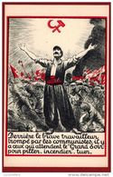 Politique - Anti Communisme - Illustrateur - 2 Scans - Partis Politiques & élections