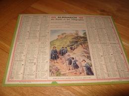 Almanach  Postes 1939  Scouts Guides  De France Ribeauvillé Saint Ulrich - Calendars